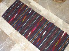 Vintage Wall Decor Kilim Bag Rug Saddle Bag by VintageHomeStories Shabby Chic Decor, Rustic Decor, Farmhouse Decor, Kilim Rugs, Rag Rugs, Entrance Rug, Floor Decor, Small Rugs, Holiday Sales