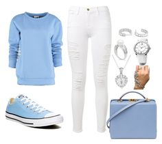 """Untitled #87"" by besirovic ❤ liked on Polyvore featuring By Sun, Converse, Frame Denim, David Yurman and Mark Cross"