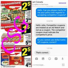 b6bbafa28a Using competitor coupons at Walmart! – Canadian Savings Group Coupons