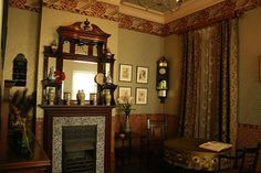 Asian influences, Victorian interior, Geffrye Museum by --Barbara--, via Flickr