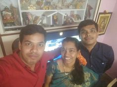 Me, sister and brother. At home 24th jan 2015