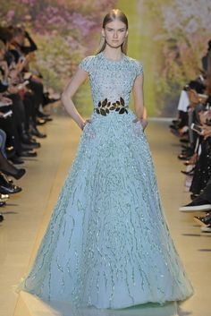 Zuhair Murad Couture Spring 2014 - Slideshow - Runway, Fashion Week, Fashion Shows, Reviews and Fashion Images - WWD.com