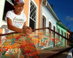 Crochê & Artesanatos: Renda Alagoana - Renda Filé
