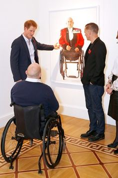 BRYAN ADAMS PHOTOGRAPHY Prince Princess Michael Of Kent LUomo - Powerful photographs injured british soldiers bryan adams