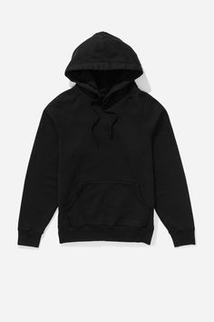 Ditch Heavy Weight Pullover Hoodie, Black