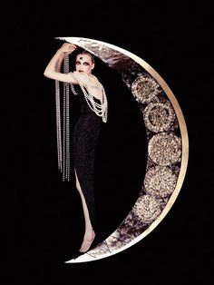 "Giovanni Gastel for Chopard, ""The Moon"", 2002 #creativity #inspirational"