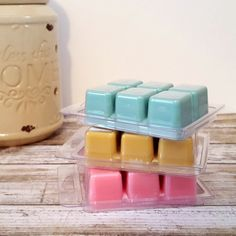 Scented Wax Melts Soy Wax Tarts Scented by SugarBelleCandles Scented Wax Melts, Soy Wax Melts, Wax Tarts, Wax Warmer, Cubes, Candles, Pure Products, Handmade Gifts, Etsy