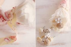 Easy tutorial on how to make a door knob bouquet