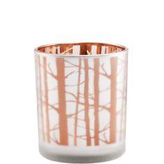 DELIGHT Votivo árboles plato/oro 8cm - Butlers Spanien