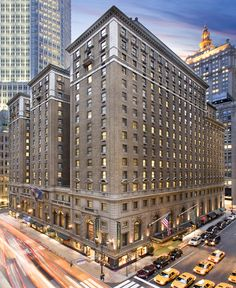 The Roosevelt Hotel, NYC.  What fond memories I have of the Roosevelt.  This is where I stayed many times when in New York City when on department store buying trips.