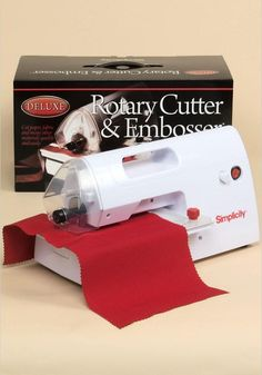 Deluxe Rotary Cutter and Embosser