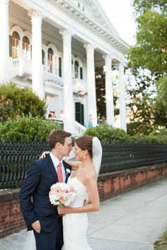 Beautiful Wilmington, NC wedding at Bellamy Mansion. Photography: Scott Piner Photography - scottpiner.com  Read More: http://www.stylemepretty.com/mid-atlantic-weddings/2013/11/07/wilmington-wedding-from-scott-piner-photography-life-stage-films/