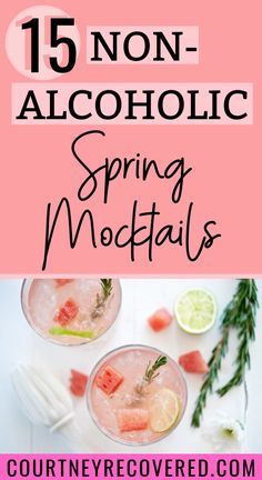 Ready for a summer drink that's also non-alcoholic? Here's 15 spins on traditional drinks that are mocktail & sobriety friendly. Mocktails non-alcoholic easy + mocktails non alcoholic recipes. Mocktails for kids and adults Easy Mocktails, Easy Mocktail Recipes, Mocktails For Kids, Drink Recipes Nonalcoholic, Non Alcoholic Cocktails, Drinks Alcohol Recipes, Keto Cocktails, Cocktail Recipes, Easy Recipes