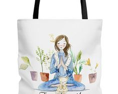 Canvas Shopping Tote Bag Angels Head with Long Hair B1 Characters Angels Angel Face Beach for Women