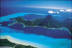 Bora Bora - für Traumschiff-Produzent Wolfgang Rademann einer der schönsten Plätze der Welt (Foto von: www.tahiti-tourisme.de)