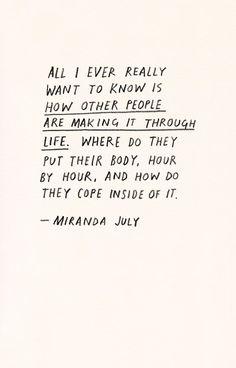 Quotes - Miranda July