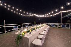 Reception set up at Casa Espanola, Manuel Antonio, Costa Rica. Photo by nallayerstudios.com.