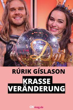"""""""Let's Dance""""-Gewinner Rúrik Gíslason lässt mit seinem sexy Wikinger-Style reihenweise Frauenherzen höher schlagen. Früher sah der Star-Kicker allerdings ganz anders aus ... #letsdance #rurikgislason #fußball #rtl #island Brad Pitt, Let's Dance, Kicker, Christmas Bulbs, Island, Let It Be, Holiday Decor, Vikings"""