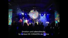"""#SGKultur  #DE #CORAZON  #LIVE  #vom 17.12 #in #St.#Wendel..#Emotion #und Lebensfreude! #So #verlaesst ... #DE #CORAZON """"LIVE"""" #vom 17.12 #in #St.#Wendel..#Emotion #und Lebensfreude! #So #verlaesst #die Carlos #Santana #Tribute #Band #DE CORAZÓN #die #Buehne.   #SGKultur #Eventagentur #Sascha #Gimler  #Die #Agentur - #fuer #Events, Kuenstlervermittlung #und #private #Veranstaltungen #Veranstaltungen,#Konzerte,#Catering,#Kuenstler Telefon: 0170 3153437  Internet: #SGKultur.#d"""