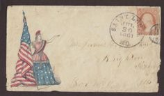 Civil-War-St-Louis-Missouri-1861-07-30-Patriotic-Cover-Lady-Liberty-Design