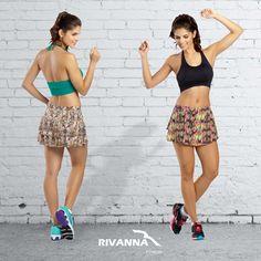 Treine com conforto e estilo, treine com look Rivanna Fitness!