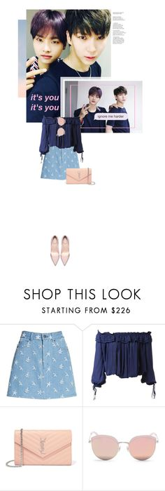"""""""Neo - Photograph"""" by the-greatest-love ❤ liked on Polyvore featuring Too Late, Marc Jacobs, Dsquared2, Yves Saint Laurent, Stephane + Christian, kpop, vixx, neo and nleo"""