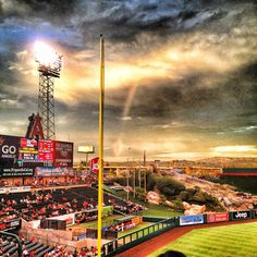 Angel Stadium of Anaheim, 2000 E Gene Autry Way, Anaheim, CA (home of the Angels since 1966)