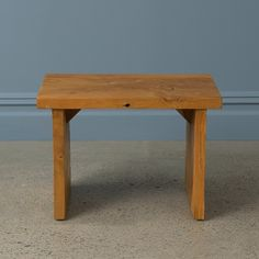 Fiora Solid Wood Accent Stool