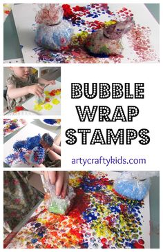 Bubble Wrap Jellyfish Crafts And New Crafts On Pinterest