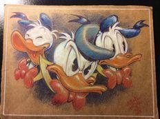 Lotti offerti da Argo - Catawiki Biro, Illustrations And Posters, Donald Duck, Rooster, Disney, Animals, Illustrations Posters, Animales, Animaux