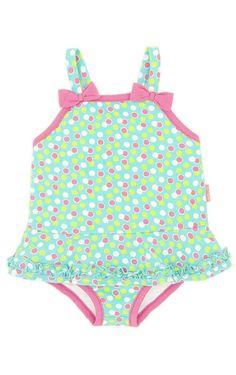 Rubies Childrens Boutique - Swirly Girly Swim Suit, $28.00 (http://www.rubieskidboutique.com/swirly-girly-swim-suit/)