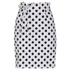 Florrie Monochrome Polka Pencil Skirt ** Details can be found by clicking on the image. Colorful Fashion, Retro Fashion, Vintage Fashion, Vintage Style, Vintage Inspired Dresses, Vintage Dresses, Casual Skirts, Vintage Skirt, Skirt Fashion