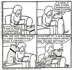 Lisa's Life: Woof Wednesday    this week featuring the awesome Off The Leash cartoons :)