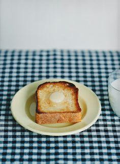 Simple buttery toast. Happiness.