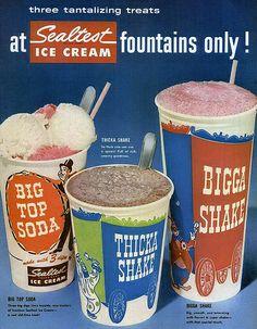 Sealtest fountain drinks 1956