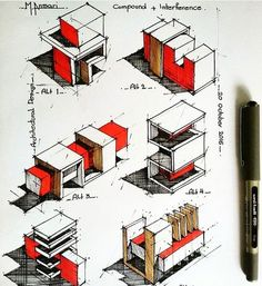 """10.9k Likes, 12 Comments - Art & Architecture (@architects_need) on Instagram: """"Sketches by @m.ansari.architect . . .✔️Follow @architects_need . .Add us on snapchat…"""""""