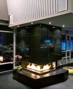 customized-luxury-canadian-home-interiors-fire-place-design