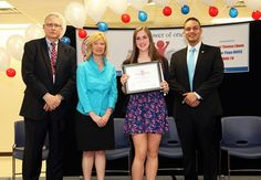 2015 Student Community Service Award winner