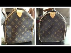(The price of the repair is in the video please watch first) Its back and this is the before and after of my Louis Vuitton Speedy 30 repair. Lv Handbags, Louis Vuitton Handbags, Fashion Handbags, Fashion Bags, Women's Fashion, Clean Leather Purse, Leather Purses, Leather Handbags, Louis Vuitton Vintage Bags