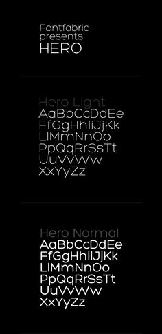 HERO free font is applicable for any type of graphic design web, print, motion graphics etc and perfect for t-shirts and other items like posters, logos. Typography Letters, Typography Logo, Typography Design, Logos, Fancy Fonts, Cool Fonts, Typography Inspiration, Graphic Design Inspiration, Light Font