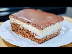 "LA CÉLÈBRE RECETTE DU GÂTEAU QUI PLEURE🍰😢 Gâteau turc ""Aglayan pasta"" Deli Cuisine - YouTube Kinds Of Desserts, No Bake Desserts, Cake Recipes, Dessert Recipes, Sweet Buns, Cake Factory, Delicious Deserts, Cake Bars, Dessert Drinks"