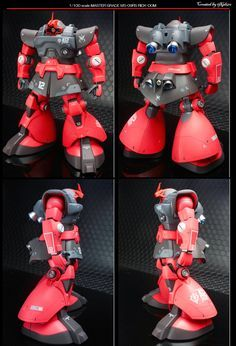 Custom Build: MG 1/100 MS-09RS Char's Rick Dom - Gundam Kits Collection News and Reviews