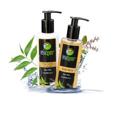 GoAyur Neem - Tulsi Shower kit for Dry Skin : This Neem – Tulsi shower kit absolutely rejuvenates, and moisturizes your fatigued skin with its authentic herbal Neem and tulsi oils. Suitable for water-dry as well as oil-dry skin types.    #NeemTulsi #bodywash #Herbalbodylotion #NaturalBodyLotion  #Ayurvediclotion MothersDay #GiftIdeas #GiftForHer #Skincare #Natural #Cosmetics #Spring2016 #SpringSale #Coupons