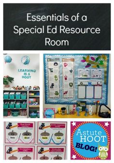 Essentials Of A Special Education Resource Room: After I Accepted My New  Position As A