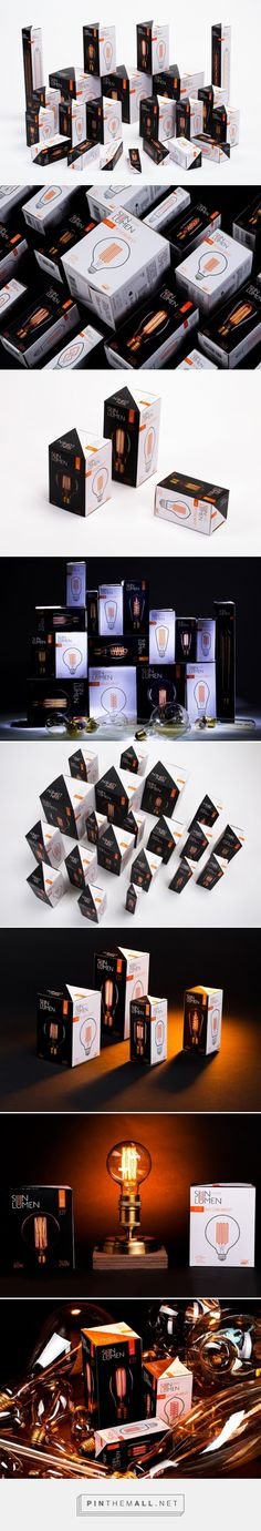 SunLumen #lightbulbs #packaging designed by Брендинговое агентство Clёver - http://www.packagingofthewo - http://www.packagingoftheworld.com/2015/07/sunlumen.html
