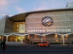Shopping Palladium em Curitiba, PR a melhor cidade do Brasil.