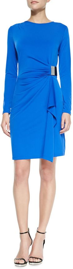 MICHAEL Michael Kors  Logo-Plate Jersey Dress