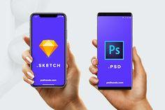 All New Smartphones Mockups
