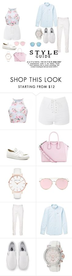 """""""Untitled #106"""" by shad80880 ❤ liked on Polyvore featuring beauty, Topshop, Givenchy, Abbott Lyon, LMNT, Alexander McQueen, Maison Kitsuné, Vans, Michael Kors and River Island"""