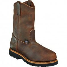 804-3310 Thorogood Men's American Heritage Safety Boots - Brown www.bootbay.com